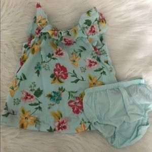 Baby Gap 0-3 months flower dress
